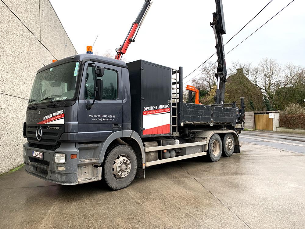 Algemene bouwwerken marino derijcke - camion groot