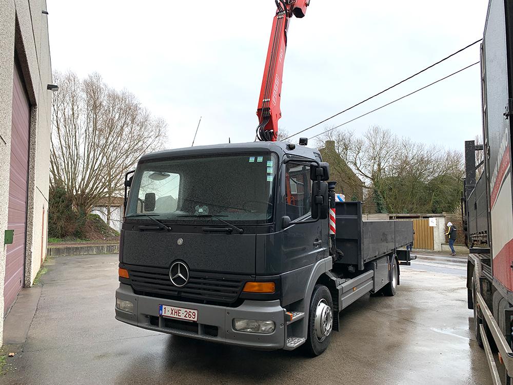 Algemene bouwwerken marino derijcke - camion klein